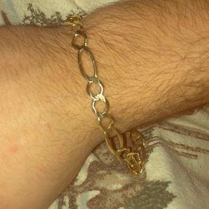 10k solid gold bracelet